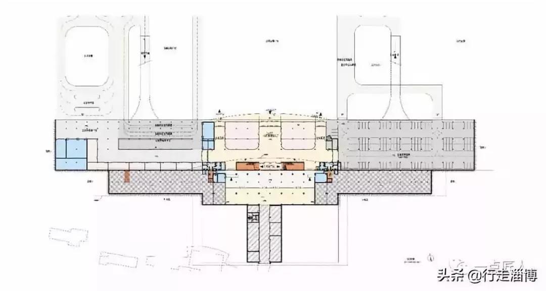 规划图,平面图,鸟瞰图.章丘火车站即将开通!图纸